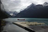 Lake Louise Dock Install